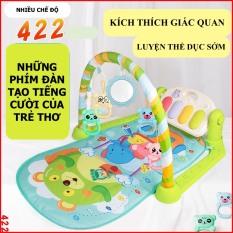 Thảm nhạc cho bé kèm đàn piano cao cấp – cho bé nằm chơi có nhạc và đồ chơi lục lac, thảm, thảm nằm cho bé có nhạc