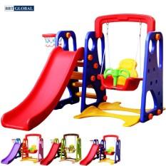 Cầu trượt cho bé có xích đu liên hoàn ZK1007 xd – cầu trượt cho bé, đồ chơi trẻ em, cầu tượt, đồ chơi vận động