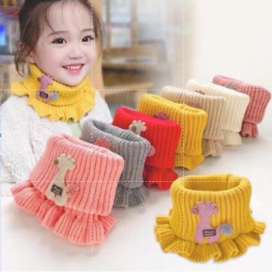 Khăn ống quàng cổ khăn nhún bèo cho bé từ 3- 10 tuổi