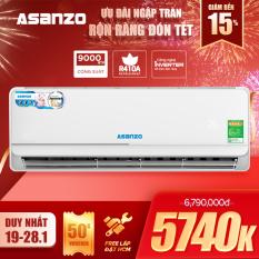 Máy Lạnh Asanzo Inverter iKool 1HP K09N66 Free lắp đặt HCM (Công Nghệ Tiết Kiệm Điện Làm Lạnh Nhanh) – Hàng Chính Hãng Bảo Hành 2 Năm