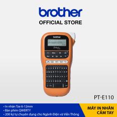 Máy in nhãn cầm tay Brother PT-E110