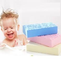 Bông tắm mút bọt biển chuyên dụng tắm cho bé