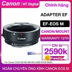 Ngàm Chuyển Canon EF sang EOS M cho Canon EOS M M2 M3 M5 M6 M10 M50 M100 (Chính hãng Canon Lê Bảo Minh)