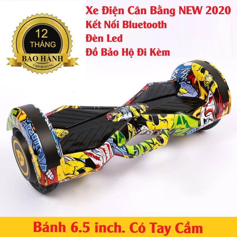 Xe Điện Cân Bằng Bánh 6.5 inch (Loa Kết Nối Bluetooth)