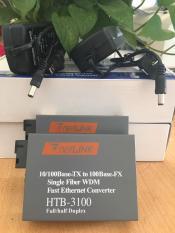 Bộ Converter single mode HTB3100AB 1 Sợi 100Mbps bộ 2 cái
