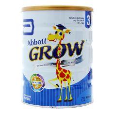 Sữa Bột Abbott Grow 3 hương Vani 900g (Cho trẻ từ 1 – 2 tuổi)