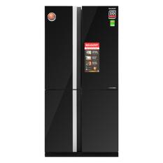 Tủ lạnh Sharp Inverter 678 lít SJ-FX688VG-BK