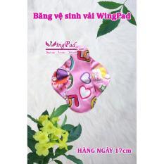 Combo 5 miếng băng vệ sinh vải WingPad hàng ngày Daily 17cm – Tặng 1 miếng ban Ngày 25cm (màu ngẫu nhiên)