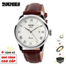 Đồng hồ nam SKMEI dây da thời trang đẳng cấp chống nước tốt SKM21-2 – Đồng Hồ SKMEI Việt Nam