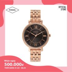 Đồng hồ nữ FOSSIL dây thép không gỉ Jacqueline ES4723 – màu rose gold