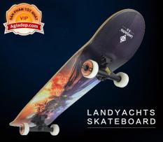 Ván trượt chuyên nghiệp SkateBoard (Phi thuyền mặt đất Landyard) – Thông minh của Agiadep