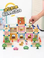 [Đồ chơi xếp hình] Đồ chơi lâu đài 3D cho trẻ em, đồ chơi lắp ghép hình thành trí tưởng tượng cho trẻ, educational toys for kids, đồ chơi phát triển trí nhớ và trí thông minh cho trẻ