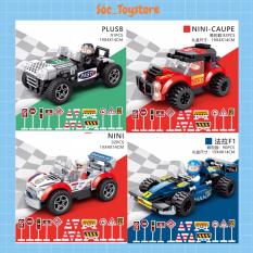 Đồ chơi Lego 92 Chi Tiết Lắp Ghép Mô Hình Ô Tô Xe Đua Thể Thao Địa Hình Thông Minh Cho Bé Sóc_toystore