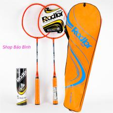 [ Tặng 6 quả cầu ] Vợt cầu lông Roadler khung hợp kim Bộ 2 vợt cầu lông