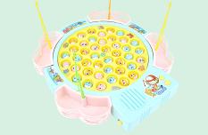 Bộ đồ chơi câu cá 45 con ( có tặng 4 quả pin )
