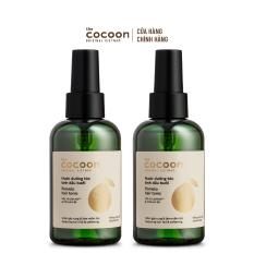 Combo 2 chai Nước dưỡng tóc tinh dầu bưởi Cocoon giúp giảm gãy rụng & làm mềm tóc 140ml