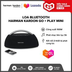 [TRẢ GÓP 0%] Loa Bluetooth Harman Kardon Go + Play mini l 4 Driver công suất khủng 100W l Pin 2200 mAh l Nghe nhạc liên tục 8h l HÀNG CHÍNH HÃNG