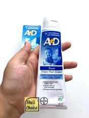 [Hàng Mỹ Nhu's Choice] Kem hăm tã (Oxit Kẽm) A+D Zinc Oxide Diaper Rash Treatment Cream, tuýp 4 oz
