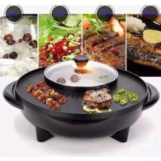 [TIỆN LỢI KHÔNG KHÓI] Bếp Nướng Lẩu Tròn 2 Trong 1 Vừa Ăn Lẩu Vừa Nướng Thịt – Kiểu Dáng Hàn Quốc Sang Trọng