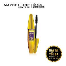 Mascara dày mi cực đại Maybelline New York Magnum Big Shot 10ml (Đen)