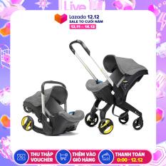 [Có Video] Ghế ngồi ô tô cho bé kết hợp xe đẩy và nôi xách tiện lợi, ghế ngồi ô tô 3in1 Mstar mẫu mới 2020, trọng tải xách đến 13kg (nhiều màu)