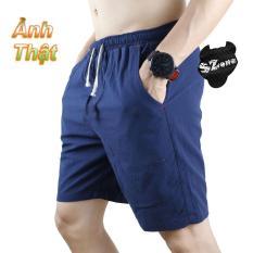 Quần short Nam, quần đùi đũi nam, quần thể thao nam vải đũi SQHK004N