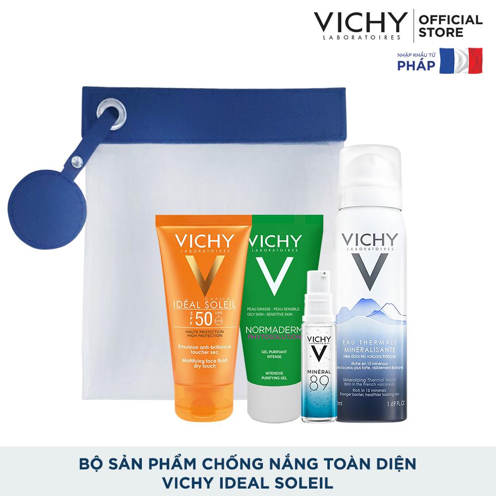 Bộ sản phẩm chống nắng toàn diện Vichy Ideal Soleil