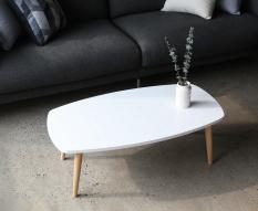 BÀN ĂN/ BÀN TRÀ/ BÀN PHÒNG KHÁCH MÀU TRẮNG – B TABLE WHITE – B테이블-화이트