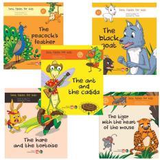 SÁCH – Combo 5 cuốn truyện ngụ ngôn bằng tiếng anh ( Best fables for kids )