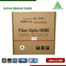 Cáp Active Opticail 4K – 3D HDMI 2.0V – 100m