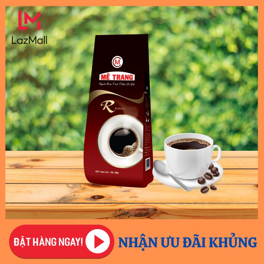 Cà Phê Robusta – Mê Trang – túi bột 500g – cà phê nguyên chất