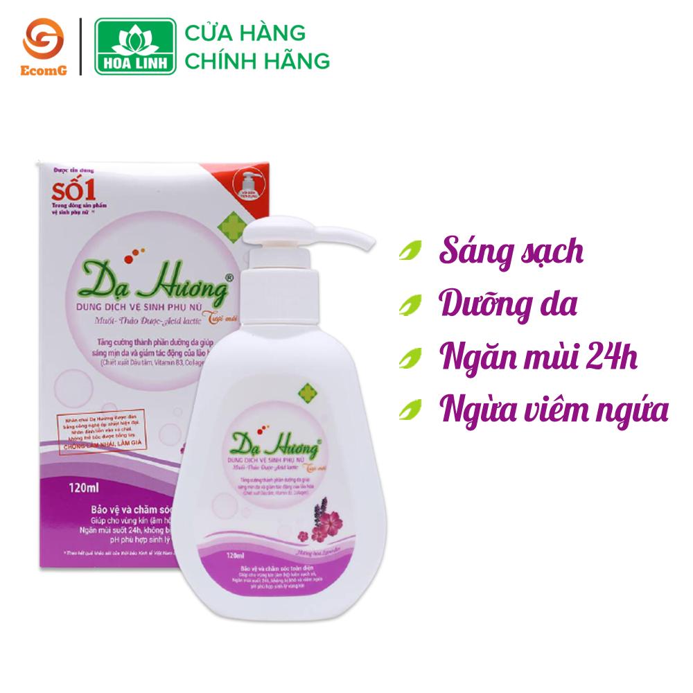 Dung dịch vệ sinh phụ nữ dạng gel Dạ Hương Lavender huyền bí – 120ml – DH1-01, làm sạch nhẹ nhàng, khử mùi hôi, mang lại cảm giác tự tin cho phái đẹp
