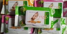 Combo 10 gói Khăn Giấy Ướt Baby không mùi ( gói 80gr ) – khan giay uot