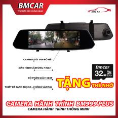 Camera Hành Trình Gương Chiếu Hậu Ekleva 7 Inch Full HD 1080P Màn Hình Cảm Ứng, Siêu Màn Hình Ban Đêm – Bm999 Plus BmCar – BẢO HÀNH 12 THÁNG