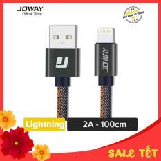 Cáp sạc nhanh Lightning Joway LI99 cho iPhone, iPad bọc dù siêu bèn – Hãng phân phối chính thức