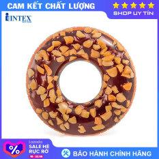 Phao bơi Donut khổng lồ mẫu mới INTEX 56262 – Phao bơi cho bé, Phao bơi trẻ em, người lớn