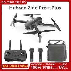 [Nhập ELAPR21 giảm 10% tối đa 200k đơn từ 99k][ COMBO ] Flycam Hubsan Zino Pro Plus Camera Ultra HD 4K thời gian bay 43 Phút Tầm xa 8Km