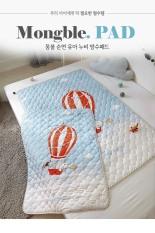 [MADE IN KOREA] THẢM CHỐNG THẤM CAO CẤP CHO BÉ NHẬP TRỰC TIẾP TỪ HÀN QUỐC, MẪU KHINH KHÍ CẦU 75cm x 100cm