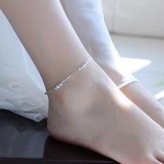 Bộ lắc chân lắc tay style mới dây đôi bi sáng LTC5