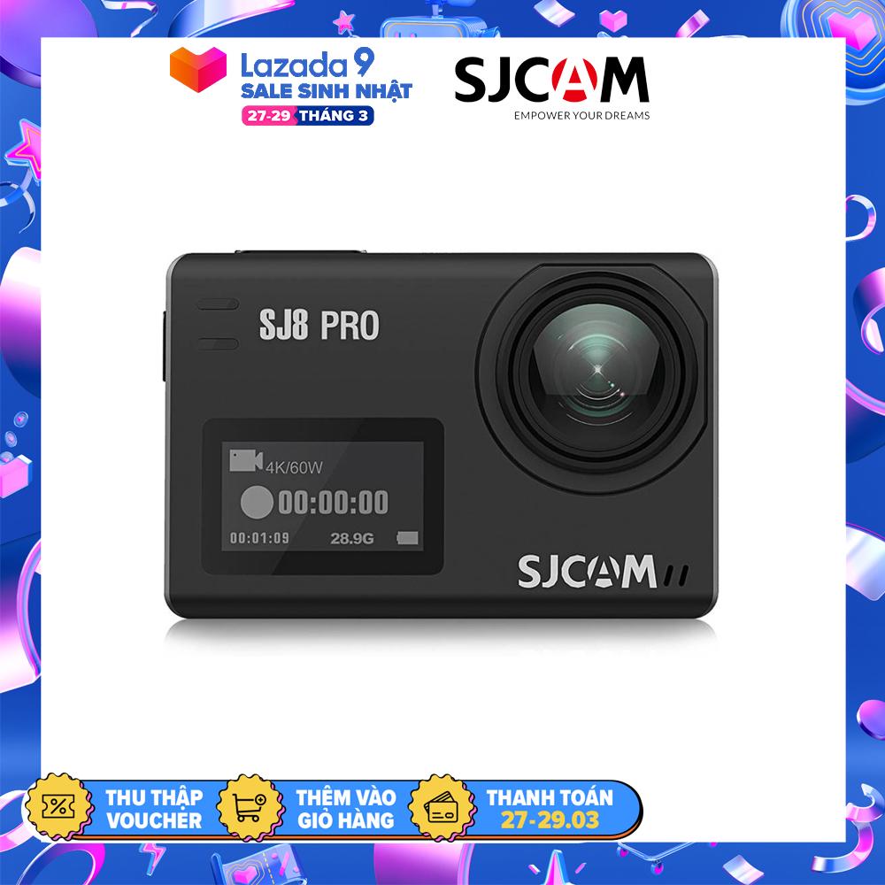[Trả góp 0%]Camera hành trình SJCAM SJ8 PRO 4K WiFi - Hãng phân phối chính thức