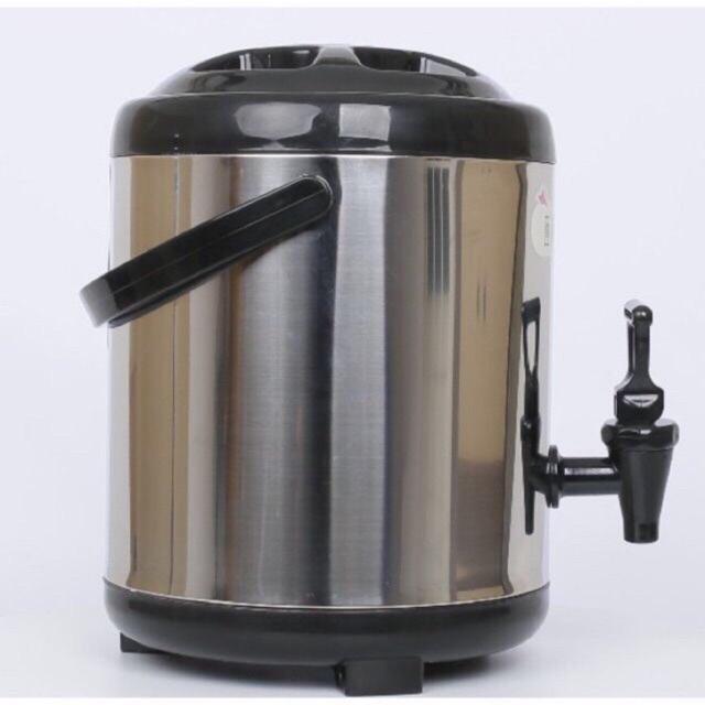 Bình ủ trà sữa nóng lạnh 3 lớp các cỡ 6 lít