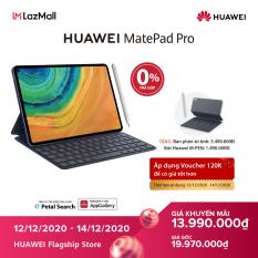 120K VOUCHER +TRẢ GÓP 0% – Máy tính bảng Huawei MatePad Pro (6GB/128GB)-Kèm bút cảm ứng Huawei M-Pencil + bàn phím Huawei Smart Magnetic-Chip Kirin 990-Hiệu ứng âm thanh Histen 6.0-Màn hình Huawei FullView 10.8 Inch-Dung lượng pin lớn 7,250 mAh