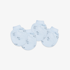 Set 2 đôi Bao tay bo mèo mây xanh – Miomio – dành cho bé từ 0-24 tháng, chất lượng đảm bảo an toàn đến sức khỏe người sử dụng, cam kết hàng đúng mô tả