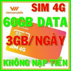 Sim 4G Vietnamobile tặng 60GB DATA (3GB/ngày) không nạp tiền – Shop Sim Giá Rẻ