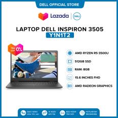 Laptop Dell Inspiron 3505 15.6 inches FHD (AMD Ryzen R5-3500U / 8GB / 512GB SSD / AMD Radeon Graphics / Win 10 Home SL) l Black l Y1N1T2 l HÀNG CHÍNH HÃNG