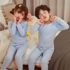 Bộ quần áo mặc ở nhà cho bé trai và bé gái từ 100 – 160cm, bộ đồ cho bé,bộ đồ lót dài tay + quần ngủ
