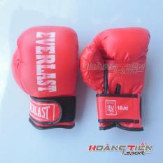 Găng Tay Đấm Boxing Everlast cỡ trung 30 – 45kg (Đỏ)