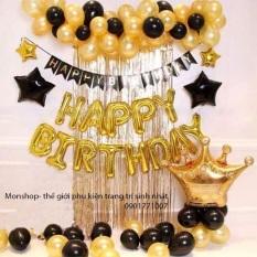 (KÈM RÈM) set trang trí sinh nhật