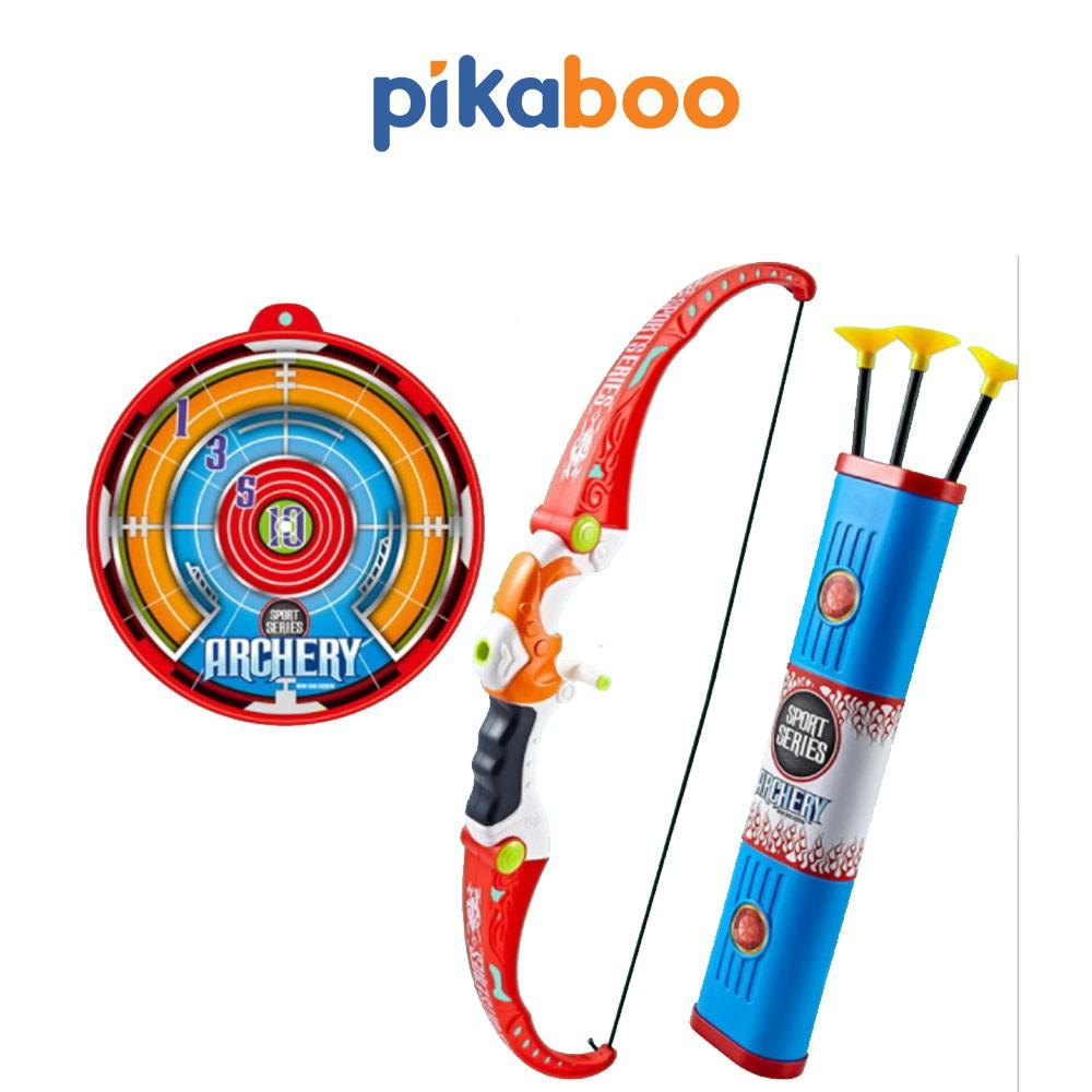 Đồ chơi cung tên ngoài trời Pikaboo làm bằng nhựa ABS cao cấp an toàn, màu sắc sinh động, thiết...