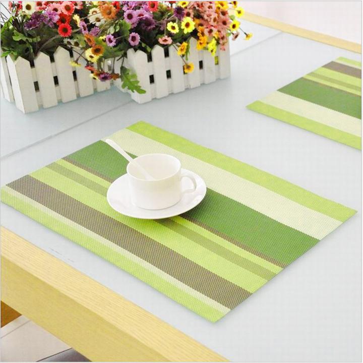 Tấm trải bàn ăn sang trọng Tấm Lót Bát Đĩa Cho Nhà Bếp Đồ Trang Trí Bàn Tiệc Thảm Nhựa...